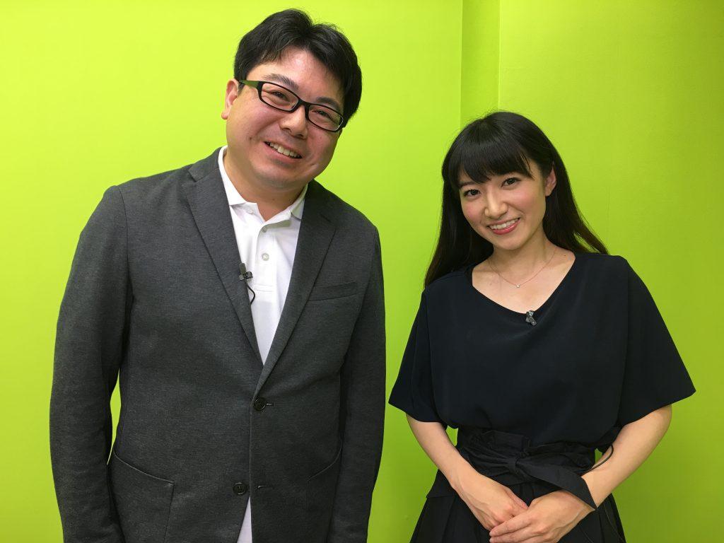 MC 田原彩香さんと